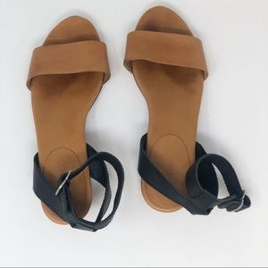 MADEWELL LEATHER SANDALS 6
